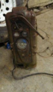 John Deere 420 Crawler Dozer Loader Dash