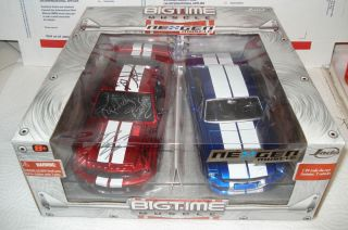 2008 Shelby GT 500KR 1 24 Two Car Set Signed by Richard Petty Plus John Force