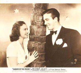 """Margaret Lindsay John Payne """"Garden of The Moon"""" 1938"""