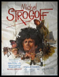 "Michel Strogoff John Phillip Law 47""x63"" French Movie Poster 1970"