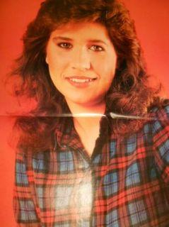 Vintage Poster Pinup John Stamos and Nancy McKeon 80's Teen Idols