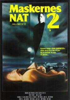 Halloween II 2 Movie Poster Horror Michael Myers John Carpenter RARE