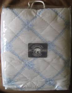 New John Robshaw Damascus Sky Queen Quilt $600