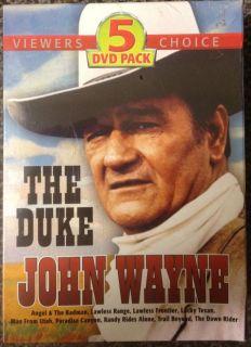 The Duke John Wayne DVD Box Set 9 films on 5 DVDs new and sealed