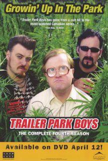 Trailer Park Boys Movie Poster 27x40 John Paul Tremblay Robb Wells John