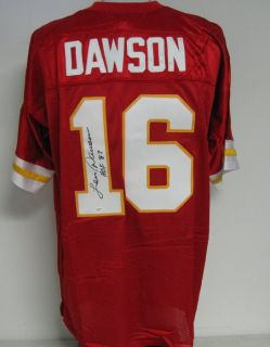 Len Dawson Kansas City Autographed Signed Jersey JSA
