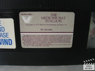 Medicine Hat Stallion The VHS Leif Garrett John Quade |