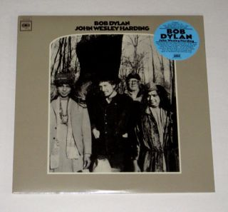 "Bob Dylan John Wesley Harding 12"" LP SEALED Mint"