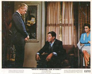 Jerry Lewis Ray Walston Who's Minding The Store 1963 8x10