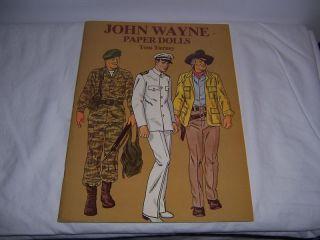 Tom Tierney John Wayne Paper Dolls