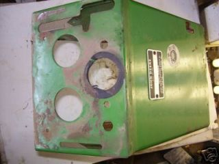 John Deere 314 214 300 Dash Tower