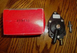 1995 1996 25HP 35HP 125HP OMC Johnson Evinrude Outboard Fuel Pump 0433390