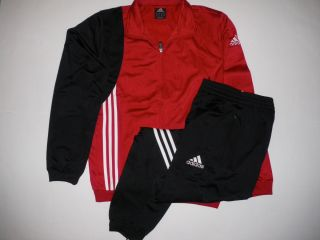 Adidas Mens Sere Polyester Tracksuit Chest Size 38 40""