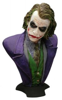 HCG The Dark Knight Joker Lifesize Bust Heath Ledger Batman