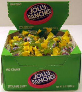 Jolly Rancher Green Apple Watermelon Candy 160 Ct Box