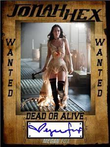 Jonah Hex Promo Autograph Print Card Lilah Megan Fox