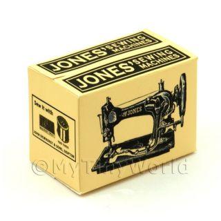 Dolls House Mini Jones Sewing Machine Box