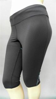 Champion C9 Ladies Womens XL Fitted Capris Pants Gray Athletic Sportswear Solid