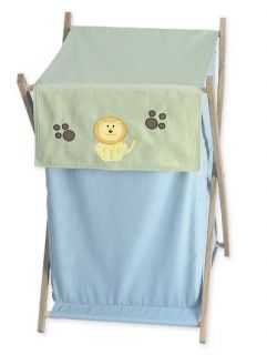 Sweet JoJo Kid Baby Clothes Laundry Hamper for Jungle Safari Animal Bedding Set