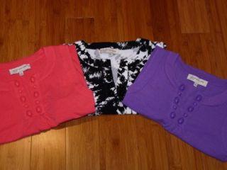Jones New York Sport Embellished Tunic Sleeveless Shirt