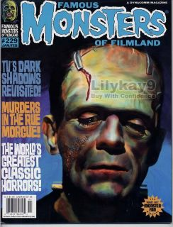 Frankenstein Dark Shadows Jonathan Frid Barnabas Lugosi Famous Monsters 229 LK9