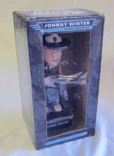 Johnny Winter Limited Edition Figure New Great Gift Item FREE USA Shipping