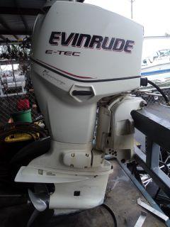 """2006 OMC Johnson Evinrude E Tec 90HP Outboard 25"""" Boat Motor Etec 90 HP"""