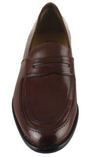 Johnston Murphy Mens Shoes Vauter Penny Mahogany 15 0782 Sz 9 M