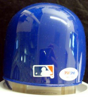 Chipper Jones Autographed Signed Braves Throwback Mini Helmet PSA DNA