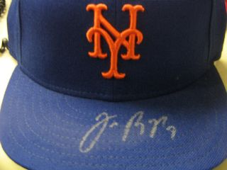 Auto Jose Reyes New Era Fitted New York Mets Cap