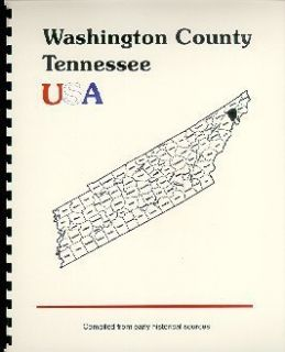 Washington County Tennessee Johnson City Jonesboro TN History 1887 Goodspeed