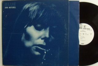 Joni Mitchell Blue 1971 VG White Label Promo