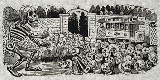 Silver Skull Day of The Dead Skeleton Charm Pendant Lot