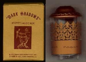 Dark Shadows 1970 Original Josette's Music Box with Original Box Very RARE