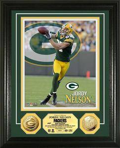 Jordy Nelson Gold Coin Photomint