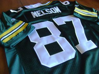 Jordy Nelson 87 Green Bay Packers Youth Jersey Size XL