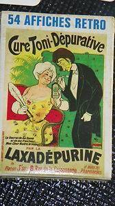 Vintage Playing Cards France 54 Cartes A Jouer Retro Baptiste Paul Grimaud