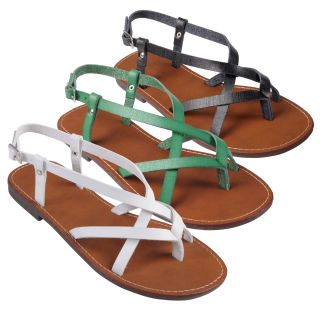 Journee Collection Women's 'Butter 21' Strappy Flat Sandals