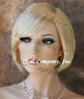 Timeless Bob Short Pale Blonde Wig Sassy Trendy Hair