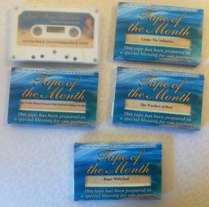 Joyce Meyer AUDIO CASSETTE teachings DEPRESSION 5 single tapes Christian