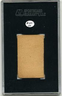1916 Big Head Strip Card SGC Joe Judge