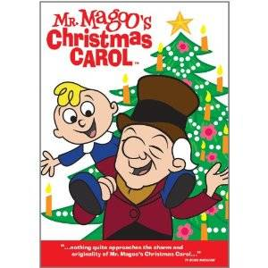 Mr Magoos Chrismas Carol DVD original 1962 classic |