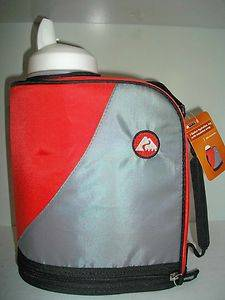 NEW OZARK TRAIL RED GALLON INSULATED WRAP COOLR CAMPING WATER JUICE JUG BOTTLE