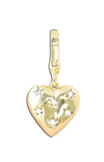 Juicy Couture Heart Gold Charm for Bracelet New