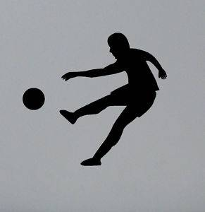 8 Boys Bedroom Football Wall Stickers Decals Wall Art