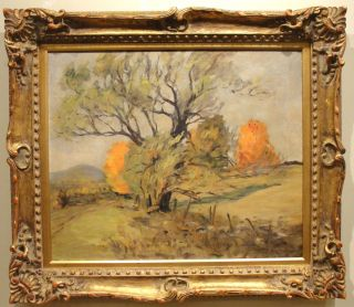 Alice Judson C 1920s Landscape Painting Twachtman Pupil Beacon NY