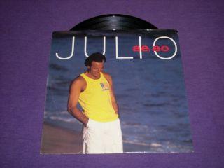 Julio Iglesias AE AO RARE Promo 7 45 Picture Sleeve