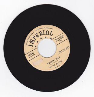 Hear Jump Blues Rocker Guitar Break 45 Pee Wee Crayton Runnin Wild