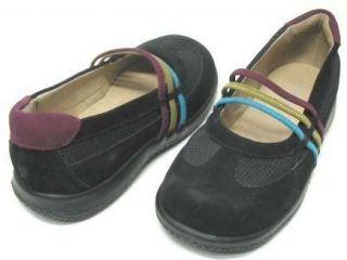 Jumping Jacks Windsong Black Multi Mary Janes Kids 13M