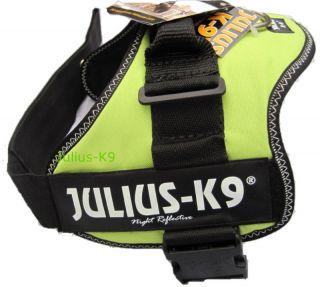 Julius K9 Kiwi Adjustable Soft Nylon Safety Dog Pet Harness Pick Size